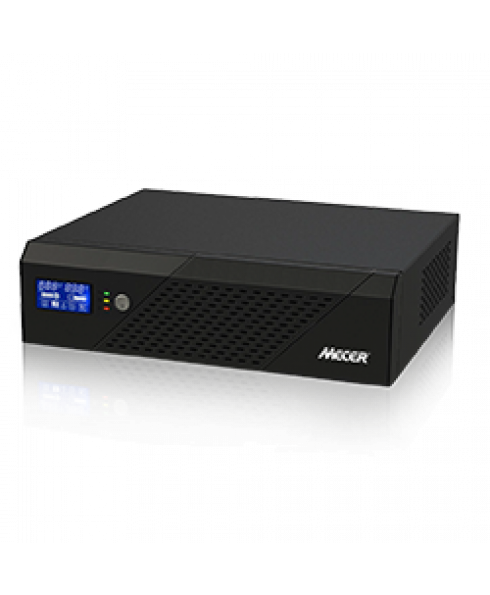 Mecer DC-AC Inverter with LCD Display:  2400VA, 1440W, 24V and Socket for Solar Power