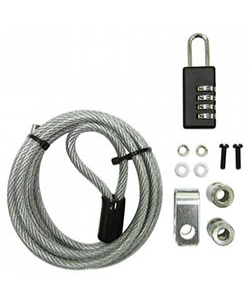 Mecer 4-Dial PC Cable Lock