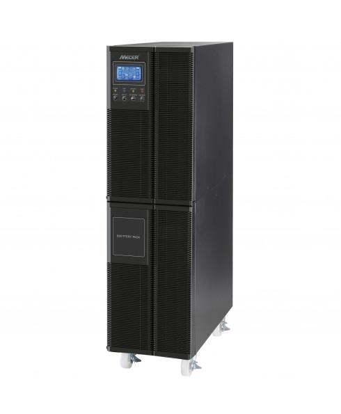 Mecer 10000VA Extended Battery for Mecer 6000VA and 10000VA WPTU / WPRU ON-LINE UPS - Black