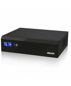 Mecer DC-AC Inverter with LCD Display: 1200VA, 720W, 12Vand Socket for Solar Power