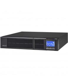 Mecer 2000VA 2U ON-LINE SINE WAVE Rackmountable UPS (with  Monitoring Software) -Black