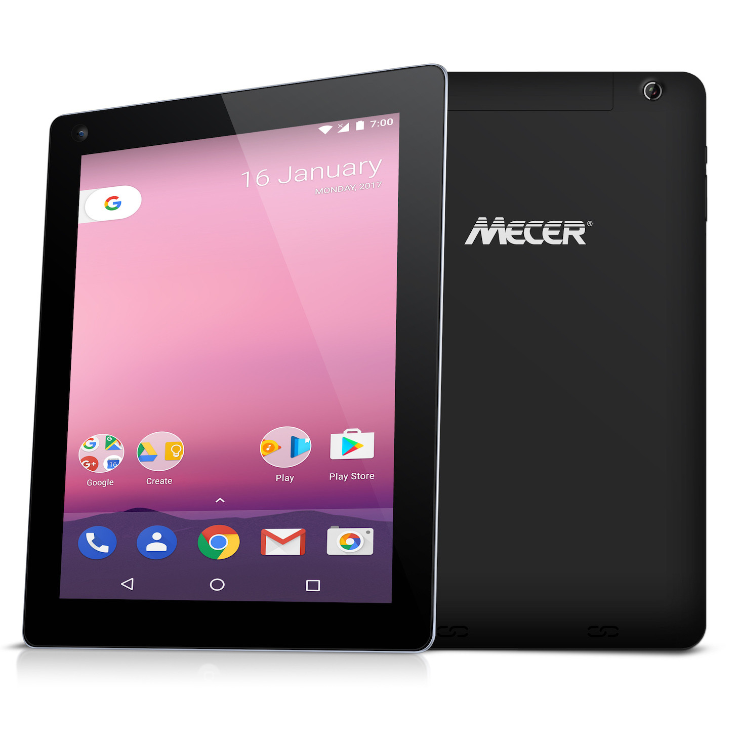 "Mecer Xpress Smartlife 10.1"" 16Q9-3G Android Tablet (Android 7.0) 16 x 10 Format - Black"