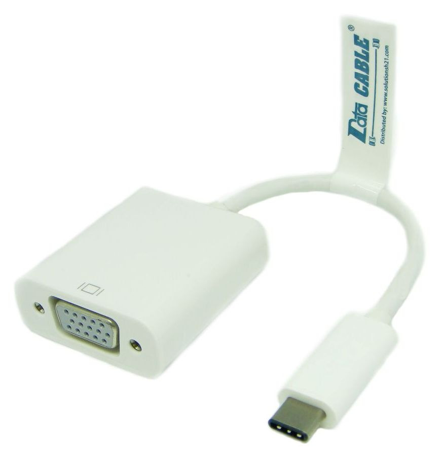Mecer USB Type C to VGA Adapter